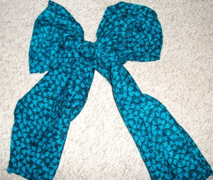 I used to make bows for $$$ in college...