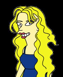 Simpsonized Marisa!