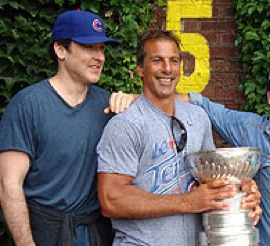 Chicago faves John Cusack & Chris Chelios