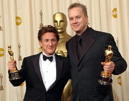 BFF's Sean Penn & Tim Robbins - courtesy of WireImage