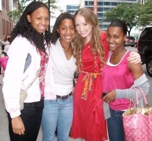 The cutest gals around!! DA, JL, & SE :)