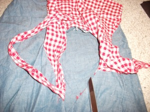 Getting rid of the gingham!